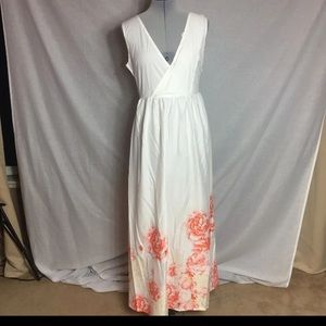 Floral Maxi Dress New, Small